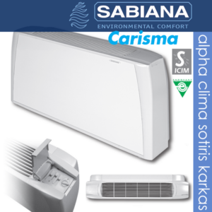 Carisma δαπέδου-οροφής εμφανή