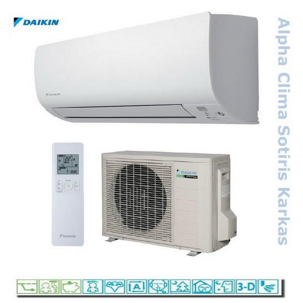 Daikin FTXS inverter R-410