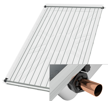 Ηλιακος θερμοσιφωνας NOBEL Classic GLASS 200lt 4m² 3πλης ενεργειας