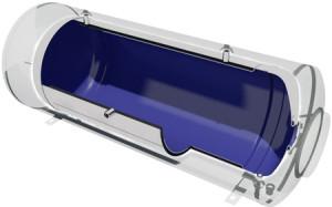 Ηλιακος θερμοσιφωνας NOBEL Classic GLASS 200lt 3m² 3πλης ενεργειας