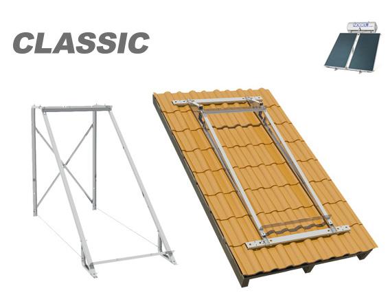 Ηλιακος θερμοσιφωνας NOBEL Classic GLASS 160lt 3m² 3πλης ενεργειας