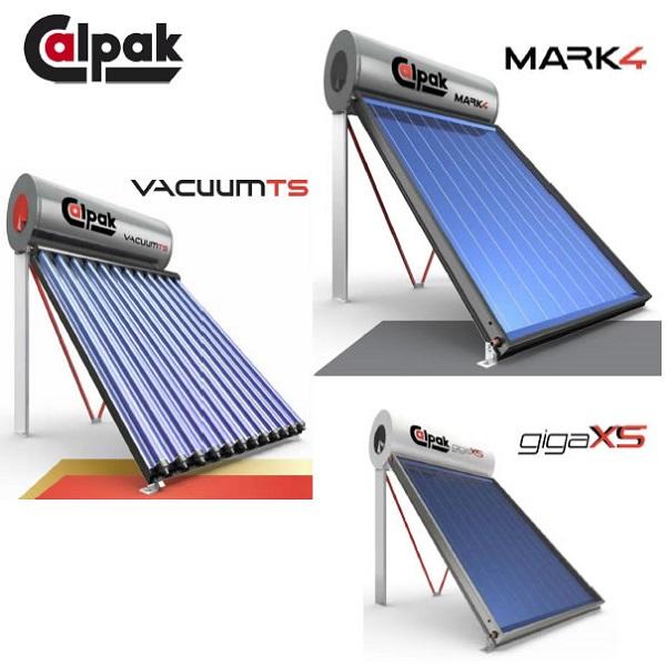Calpak ηλιακοί θερμοσίφωνες