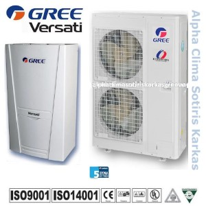 Αντλια θερμοτητας Gree Versati GRS-CQ16Pd/Na-K