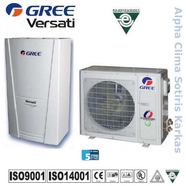 Αντλια θερμοτητας Gree Versati GRS-CQ6.0Pd/Na-K