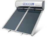 Ηλιακος θερμοσιφωνας NOBEL Apollon Glass ταρατσας