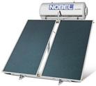 ηλιακος θερμοσιφωνας NOBEL Classic Inox ταρατσας