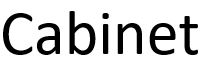 Cabinet-logo