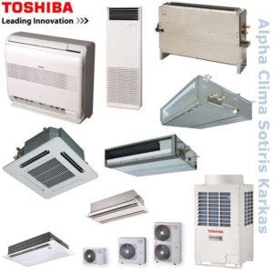 Ημι-Κεντρικός-VRV Toshiba