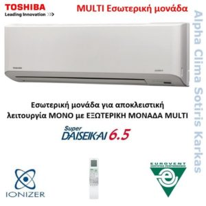 Toshiba Multi Τοίχου Daiseikai