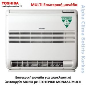 Toshiba Multi Δαπέδου