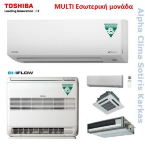 Toshiba Multi εσωτερικά