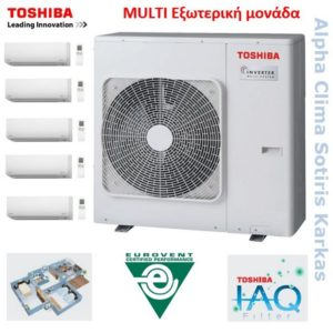 Toshiba Multi εξωτερικά