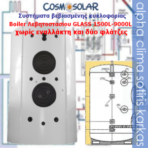 Boiler-0 εναλλάκτης 1500-9000L