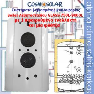 Boiler-1 εναλλάκτης 750-9000L