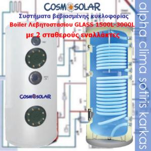 Boiler-2 σταθερούς εναλλάκτες