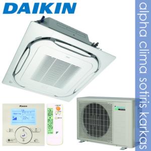 Daikin κασέτα κυκλικής ροής