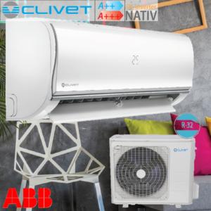 Clivet Nativ τοίχου inverter R32
